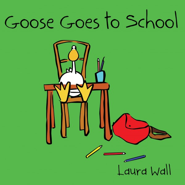 Goose Goes to School  book cover