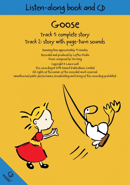 image of goose audio book front cover
