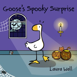 Goose's spooky surprise! Front cover